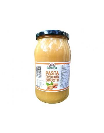 Masło (pasta) orzechowe smooth 900g