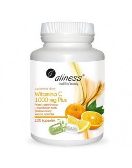 Witamina C 1000 mg Plus 100 kaps VEGE