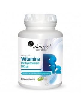 Witamina B12, 100 kaps vege