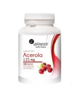 Acerola 125 mg z 120 tabletek 100% natural