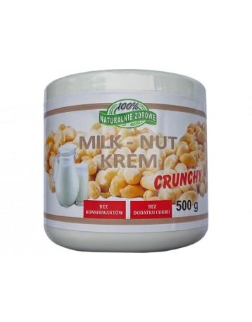Krem orzechowo-mleczny crunchy