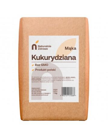 Mąka kukurydziana bez GMO