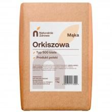 Mąka orkiszowa biała pięćsetka typ 500
