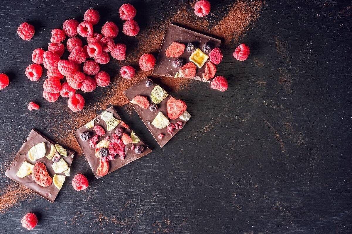 Wegańska czekolada karobowa